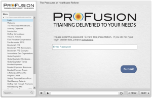 ProFusion eLearning Demonstration